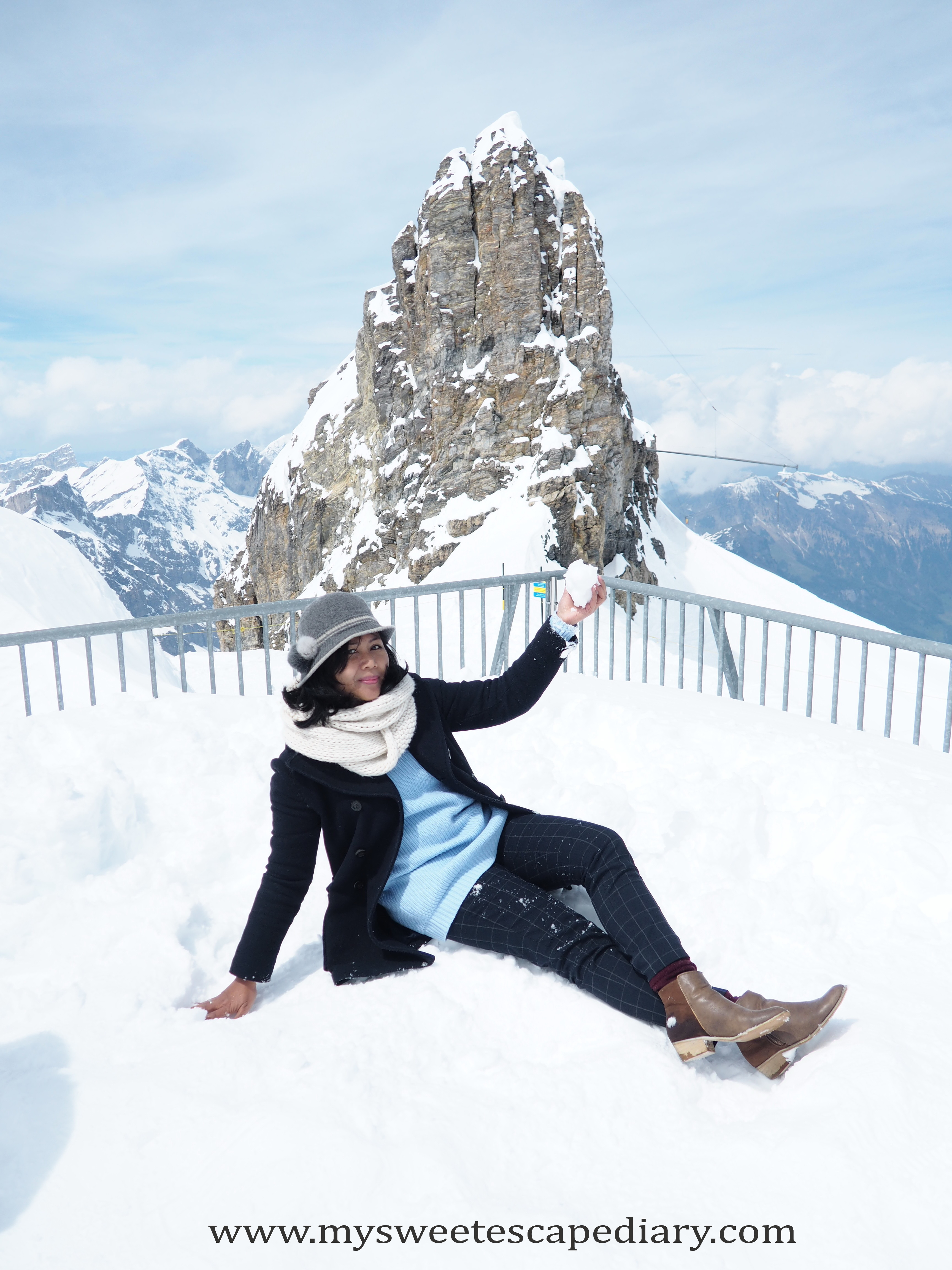 Mount Titlis Self Guided Tour My Sweet Escape Diary